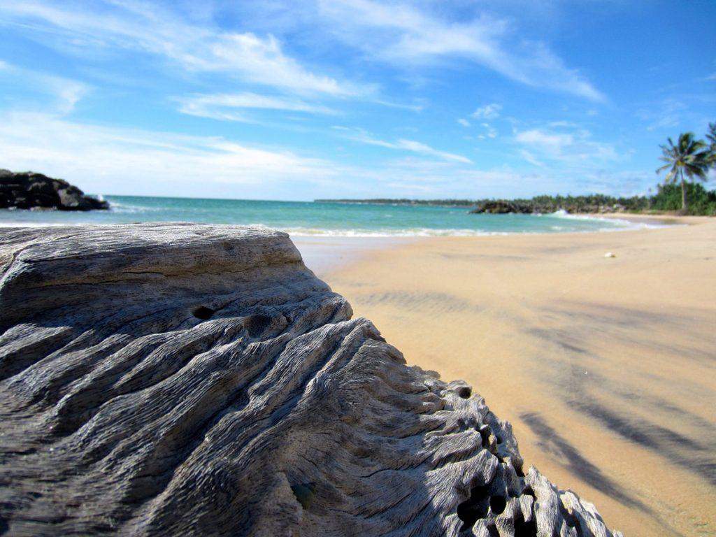 La belle et longue plage de Nilaveli