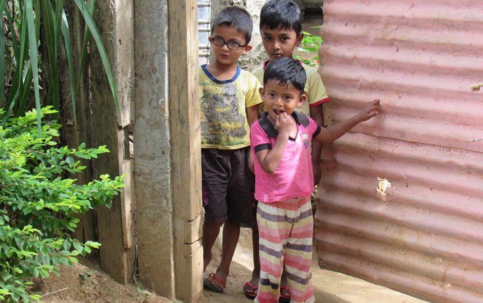 Enfants Sri Lankais