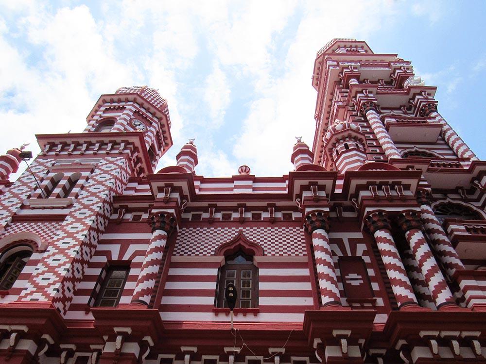 Mosquee Jamil Ul Alfar a Colombo