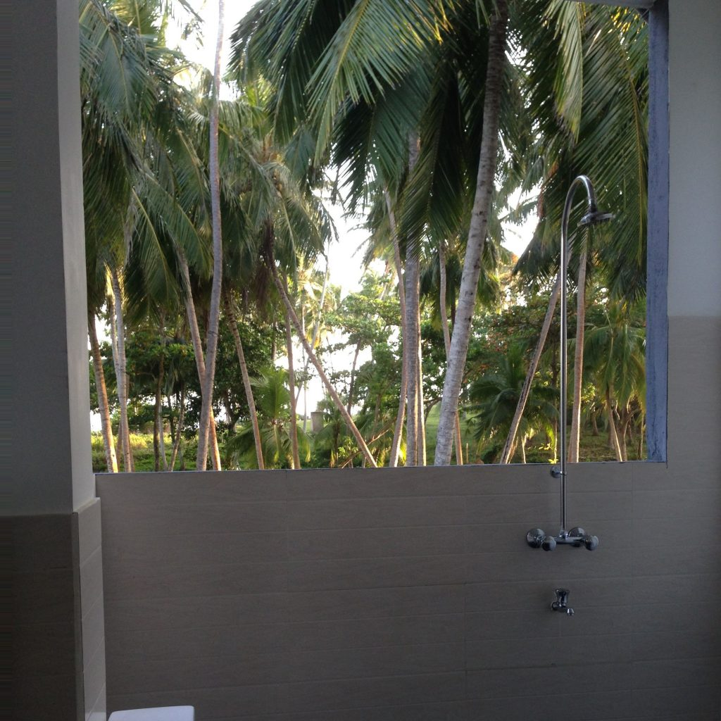 Luxus, Outdoor Dusche, Unterkünfte Sri Lanka