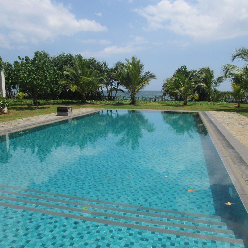 Pool, Ayurvedaresort, Unterkünfte Sri Lanka