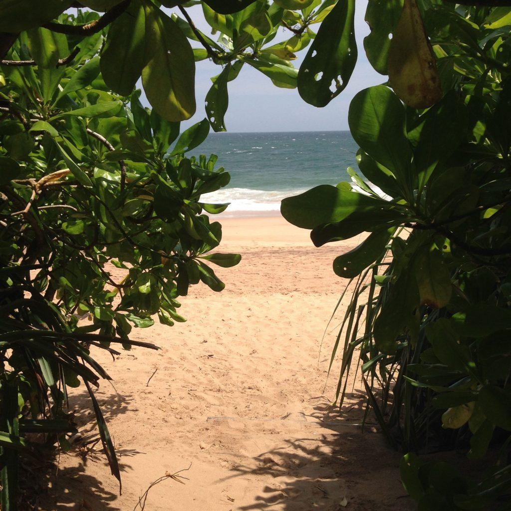 versteckter Strand, Sri Lanka