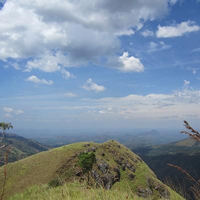 Little Adam's Peak in Ella, Sri Lanka
