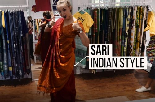 saree tutoriel