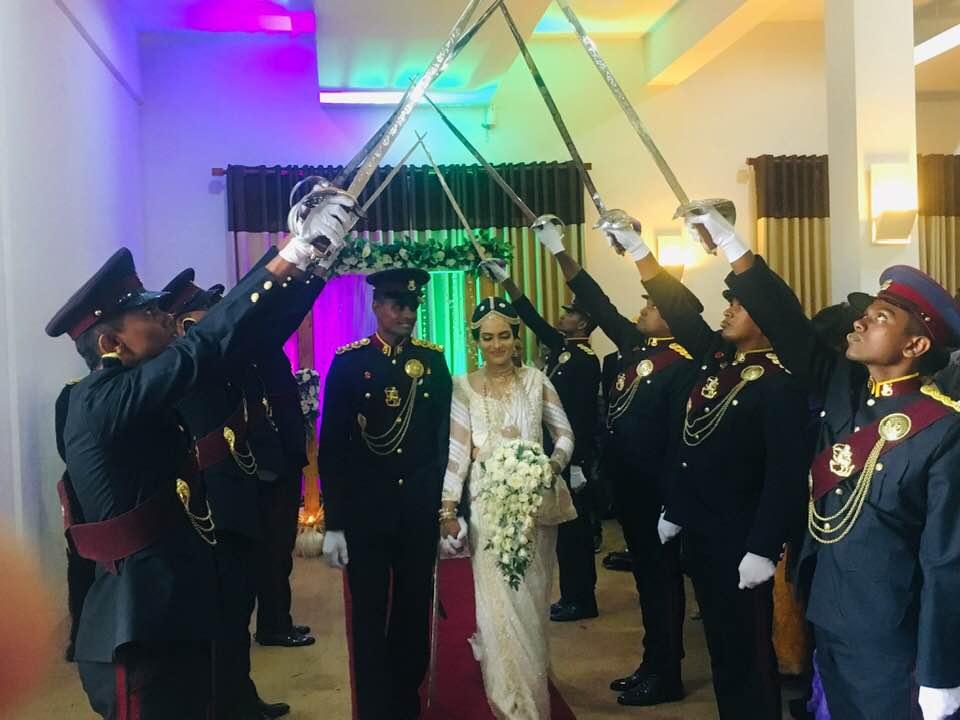 mariage militaire sri lanka