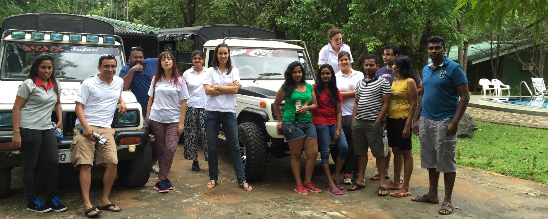 Comment s'est-on retrouvé au Sri Lanka ?