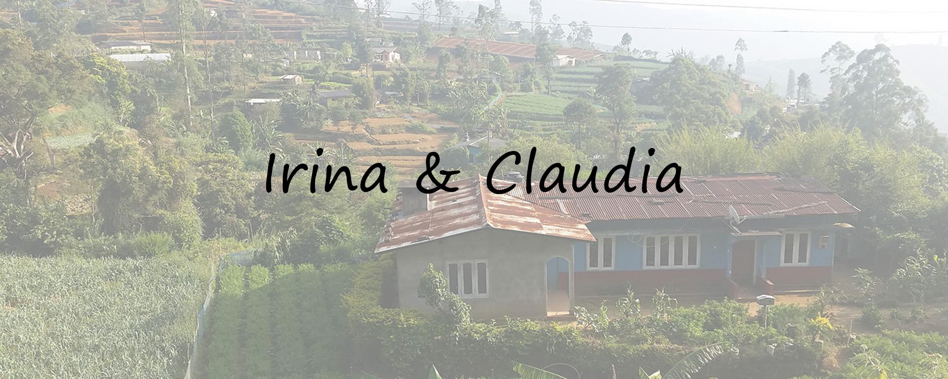 Comment Irina et Claudia se sont-elles retrouvées au Sri Lanka ?