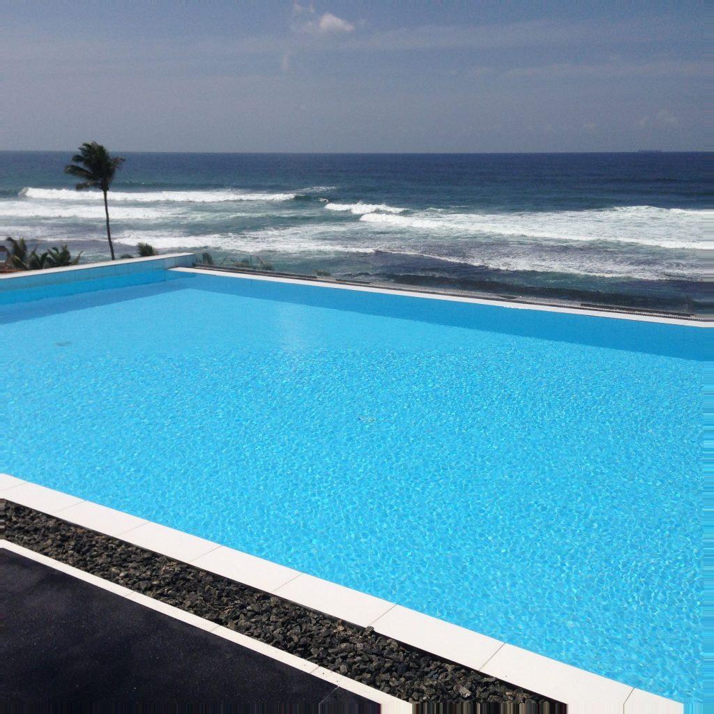 Mirissa Beach, Rooftop Pool, Unterkünfte Sri Lanka
