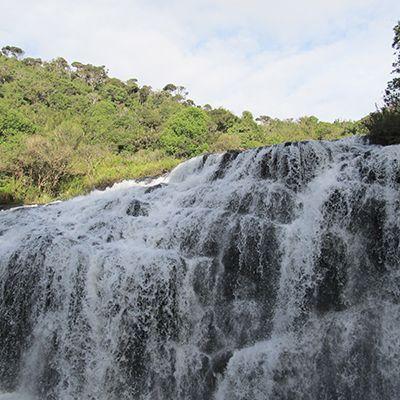 Waterfall in Horton Plains, Sri Lanka