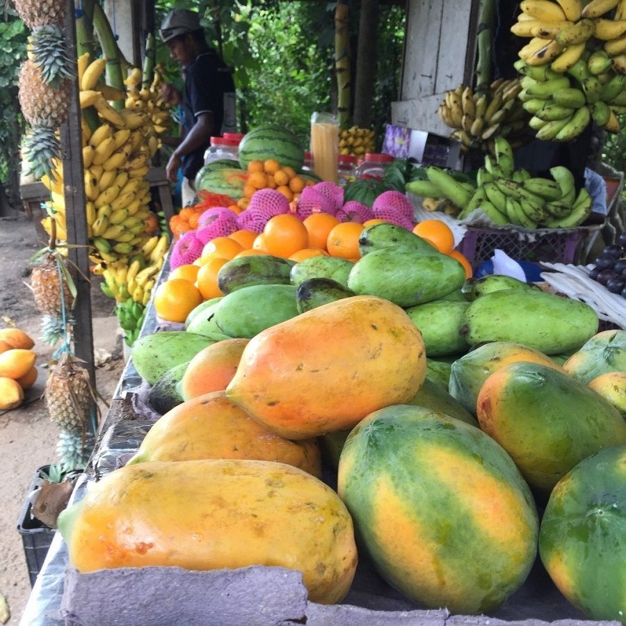 tropical fruits, tropical fruit stall, unawatuna