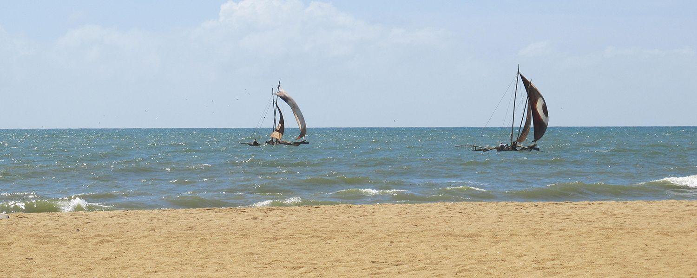 Plage de Negombo, Sri Lanka