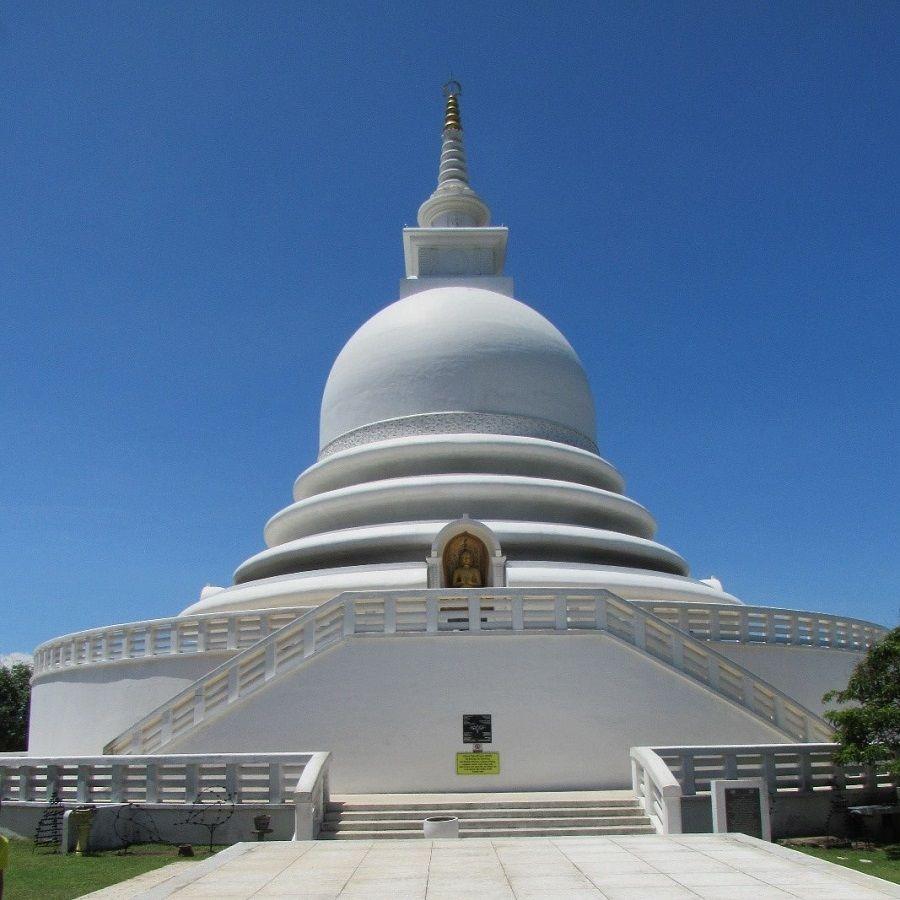 rumassala, peace pagoda, unawatuna