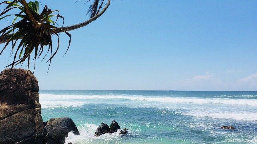 vijaya beach, dalawella beach, unawatuna, sri lanka