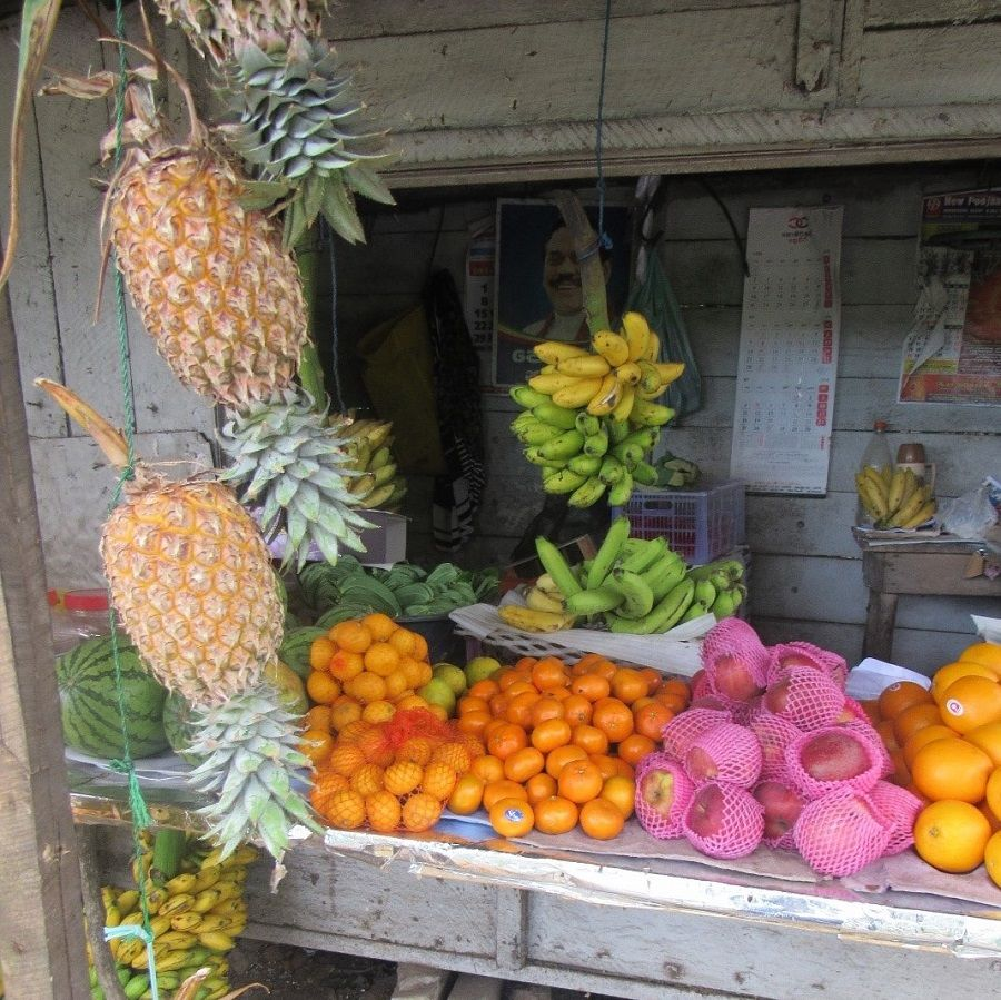 Fruits, Légumes, Ananas, Sri Lanka
