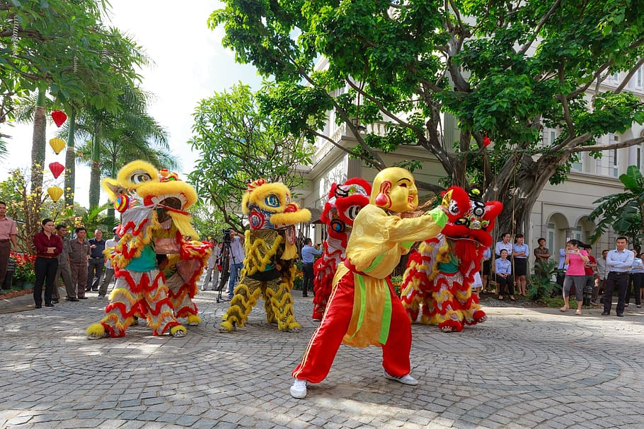 celebration Tet Vietnam