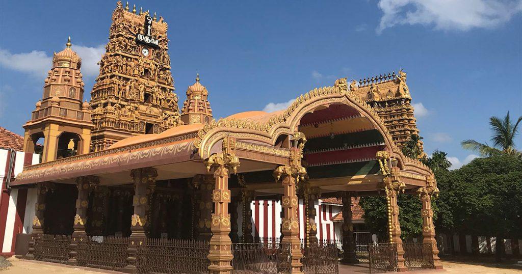 temple hindou Nallur