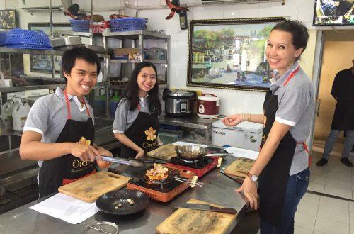 Un cours de cuisine au pays du dragon !