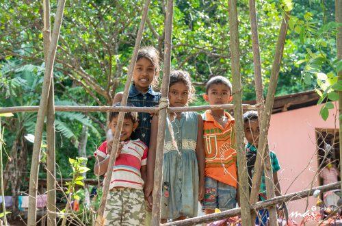 Donations for disadvantaged children in Sri Lanka