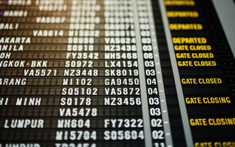 vols internationaux covid