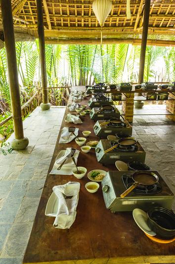 Cours de cuisine à Hoi